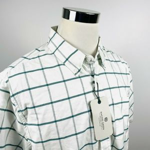 Racing Green Mens XL Tailored Fit Oxford Shirt